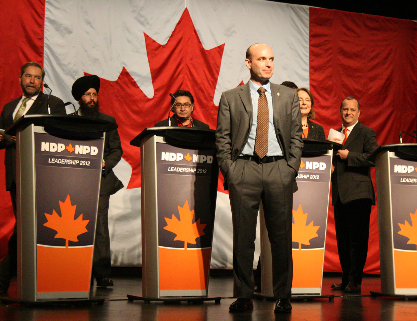 NDP Leadership Debate, Halifax, Nova Scotia