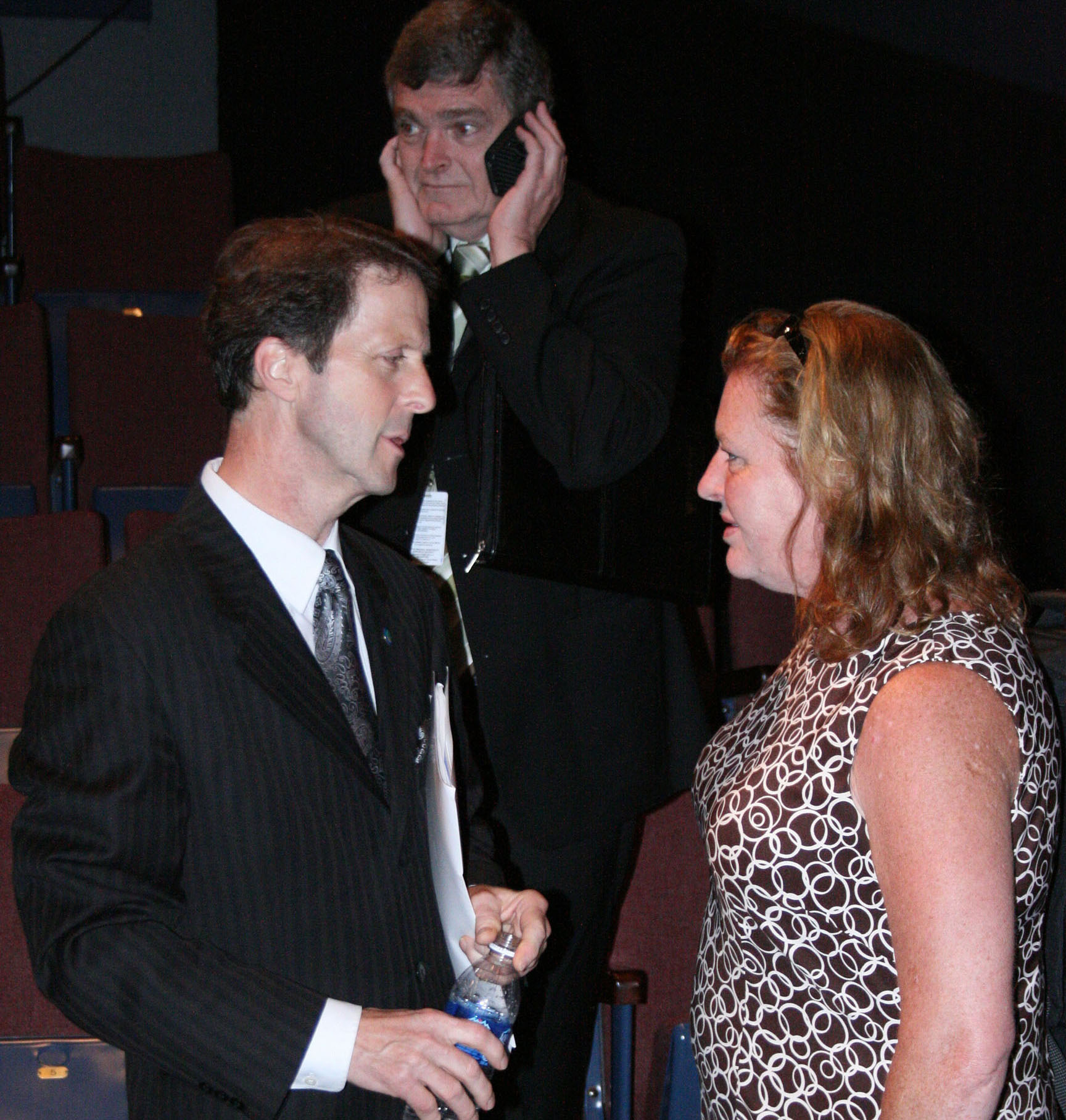 Mayor Peter Kelley & Councillor Dawn Sloane.