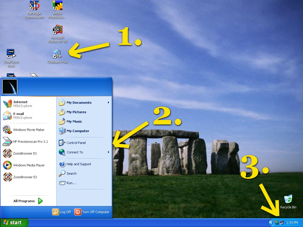 Windows xp hook up to internet