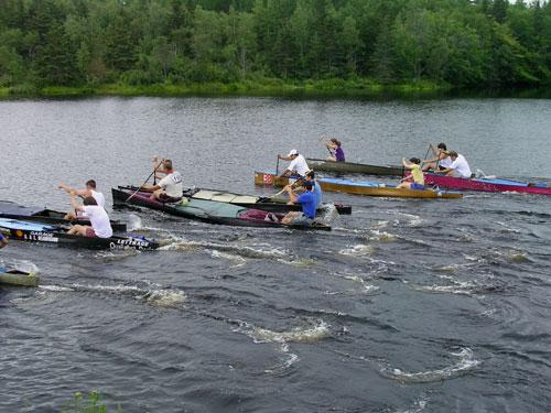 N S  MARATHON CANOE - Nictaux Race 2004